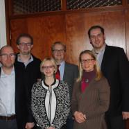 Die aktuelle Vorstandschaft des OV Münchberg. Auf dem Bild fehlt Frank Roßner.